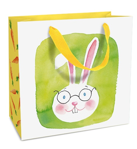 Geschenktasche Green Bunny