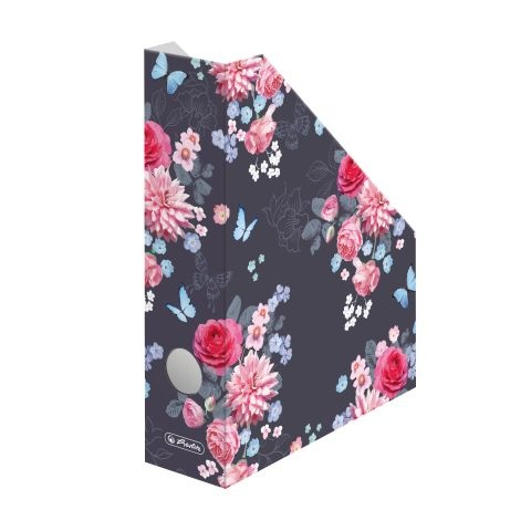 Herlitz Stehsammler Wellpappe Ladylike Flowers