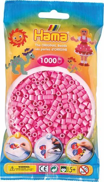 Hama Bügelperlen 1000 Stück pastell-pink