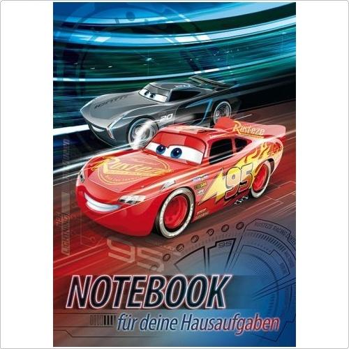 Hausaufgabenheft Cars 3 Champion