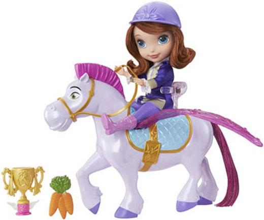 Mattel Disney Sofia - Fliegende Prinzessin Sofia und Minimus