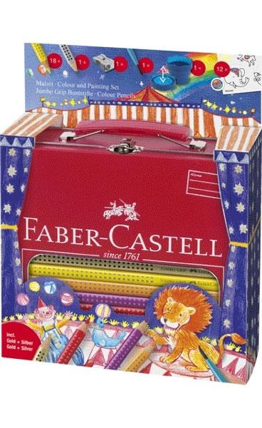 Faber Castell Jumbo Grip Malset - Zirkus