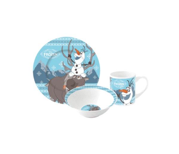Frozen Die Eiskönigin Frühstücksset Kindergeschirr