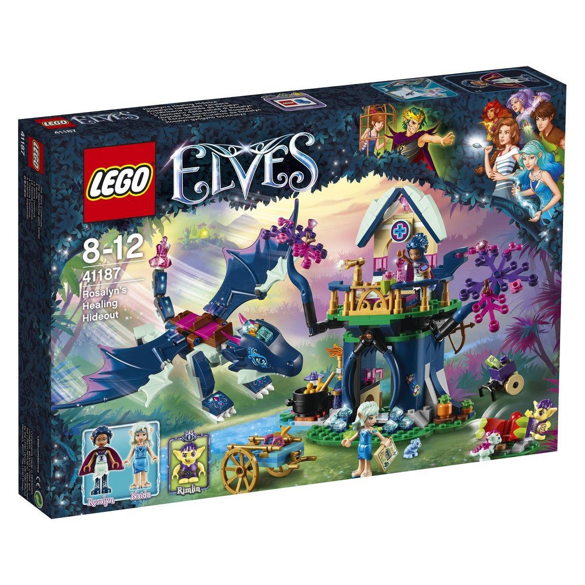 Lego Elves 41187 Rosalyns heilendes Versteck