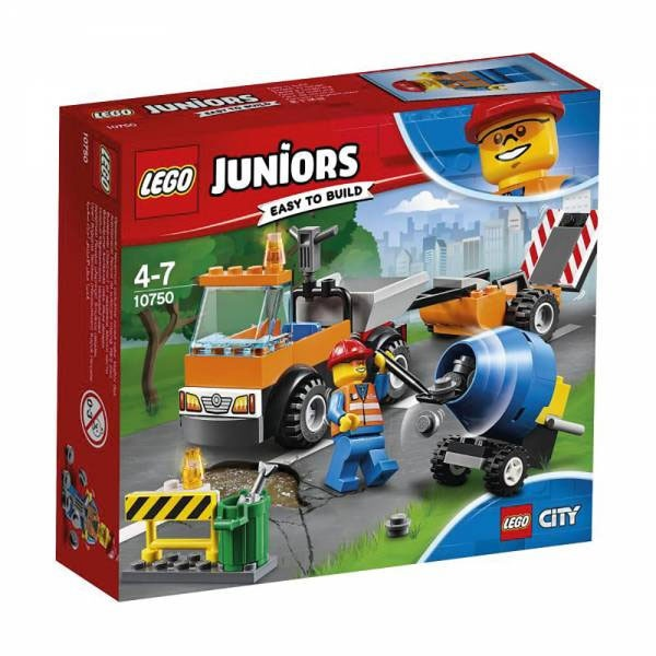 Lego Juniors 10750 Straßenbau Laster