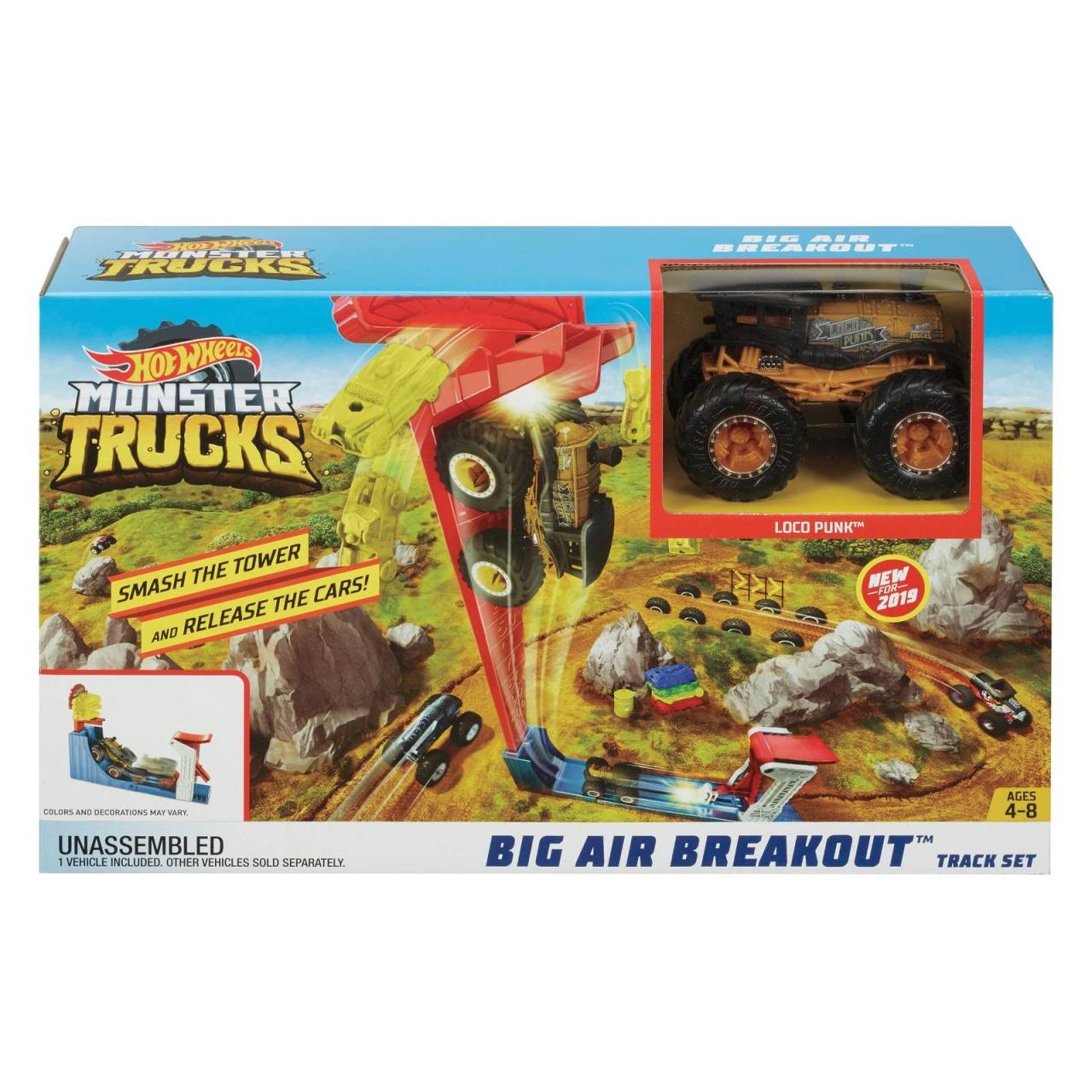 Hot Wheels Monster Trucks Mega Sprung-Blaster