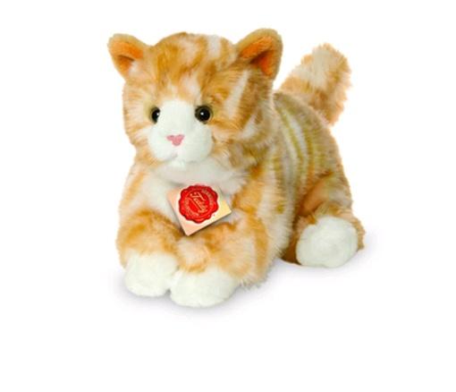 Teddy Hermann Katze rot getigert 24 cm