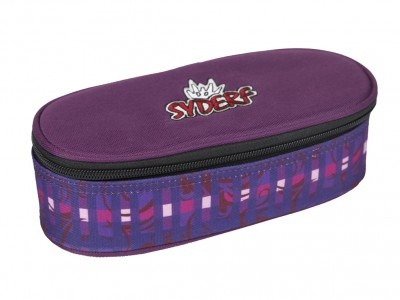 Syderf Lila Purple Check Etuibox
