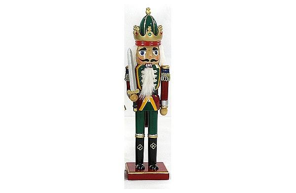 Nussknacker 38 cm mit Schwert