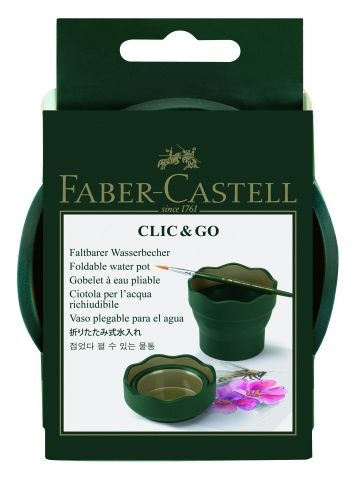 Faber Castell Wasserbecher Clic & Go Art & Graphic