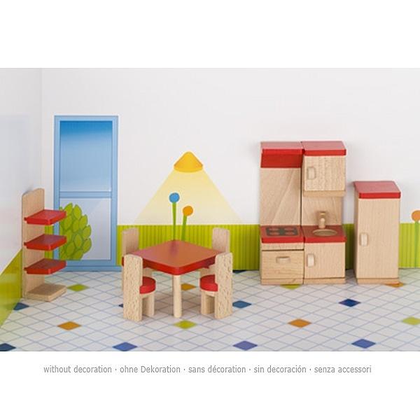 Puppenmöbel Küche, Holz