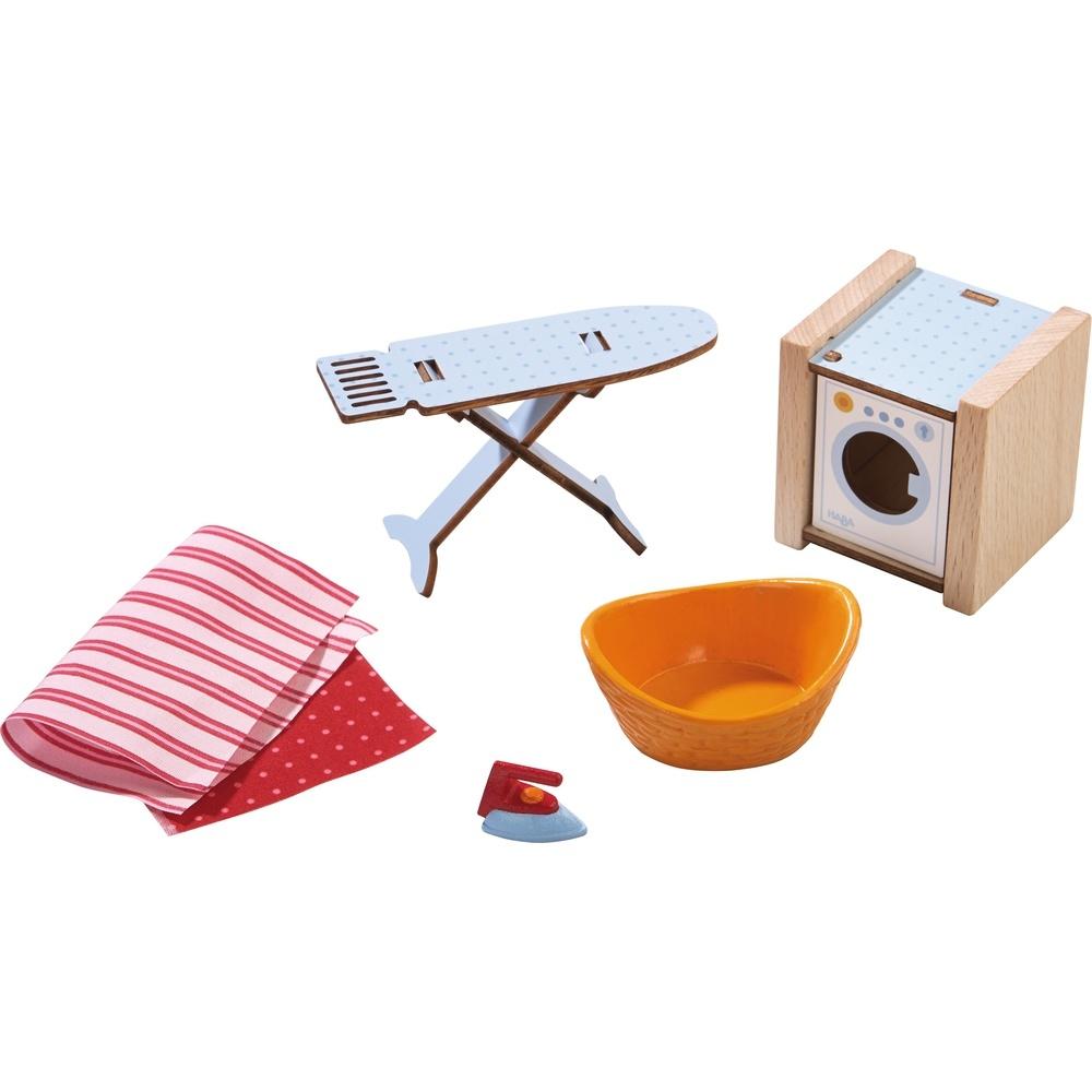 Haba Little Friends Puppenhaus-Zubehör Waschtag
