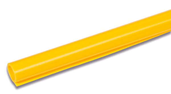 Buchschutzfolie transparent gelb nichtklebend