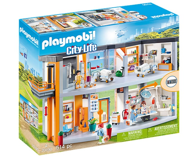 Playmobil 70190 City Life Krankenhaus
