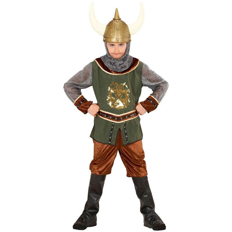 Kostüm Wikinger Gr. 140