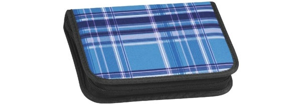 Take it Easy Viola blue Etui 2 Klappen leer