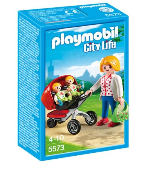 Playmobil 5573 City Life Zwillingskinderwagen