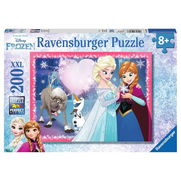 Ravensburger Puzzle Disney Frozen Geschwisterliebe 200 T XXL