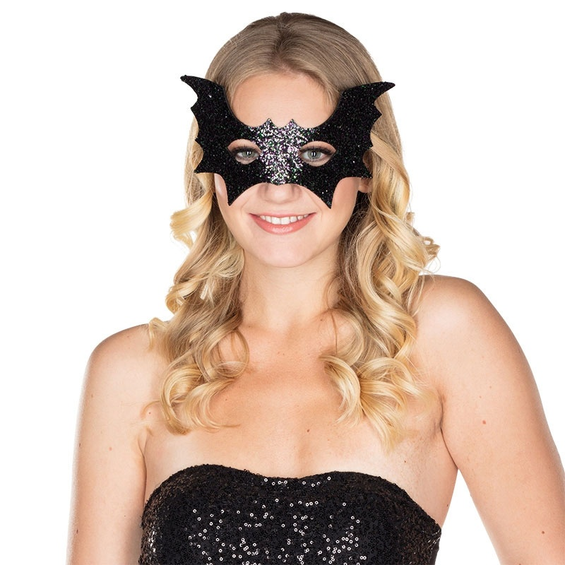 Fledermaus Maske Glitter