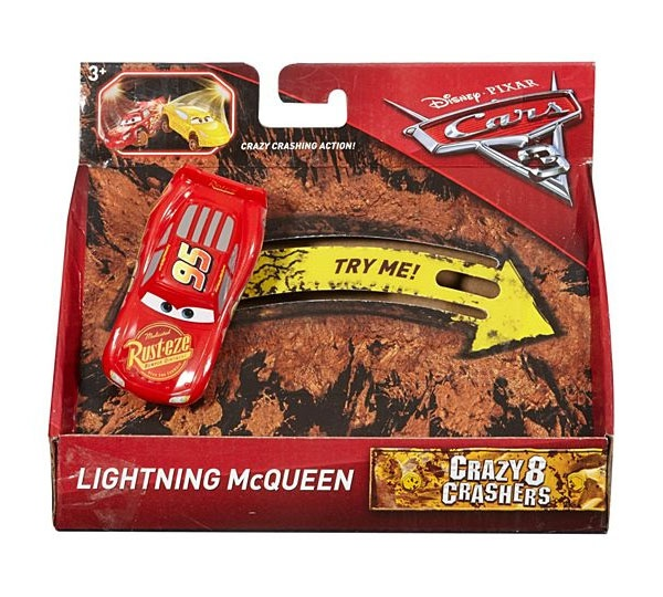 Cars3 Crazy 8 Crashers Lightning McQueen