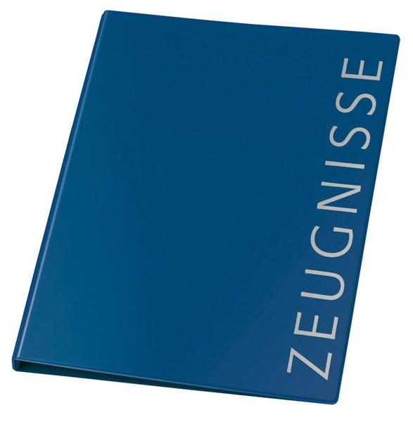Zeugnismappe blau von Veloflex