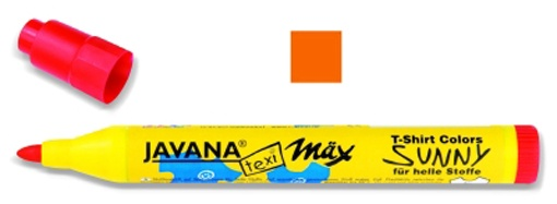 Kreul Javana texi mäx Summy Stoffmalstift medium Orange