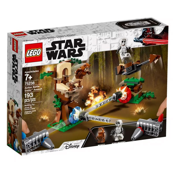 Lego Star Wars 75238 Action Battle Endor Attacke