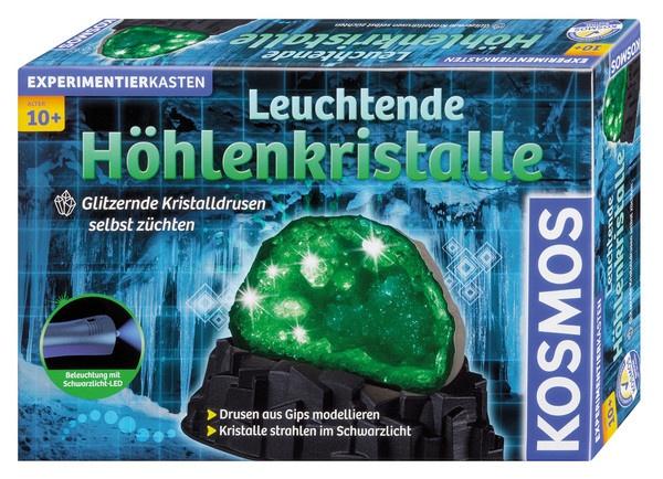Experimentierkasten Leuchtende Höhlenkristalle von Kosmos