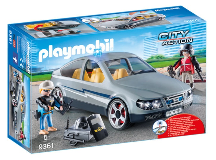 Playmobil 9361 City Action SEK-Zivilfahrzeug