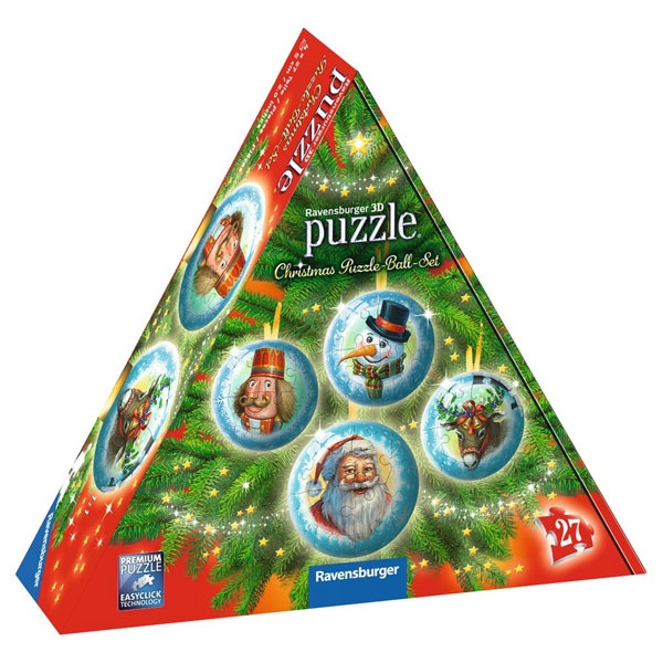 Christmas Puzzle-Ball-Set von Ravensburger