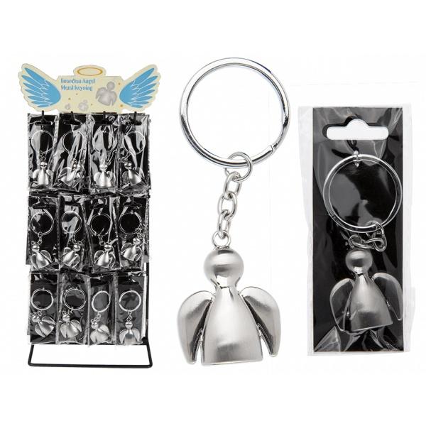 Metall Schlüsselanhänger Engel