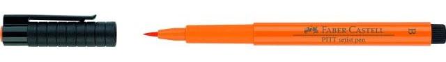 Faber Castell Pitt artist pen orange glace113