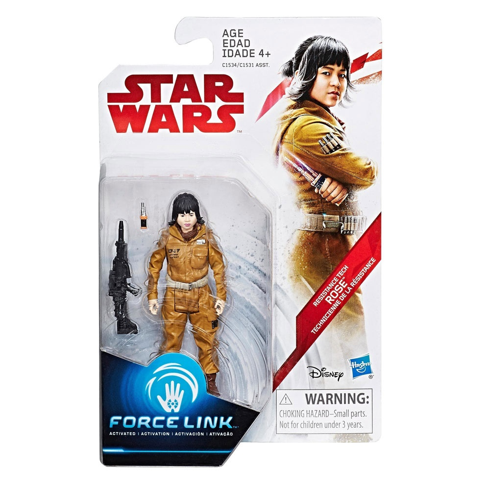 Star Wars Episode 8 Force Link Figuren Resistance Tech