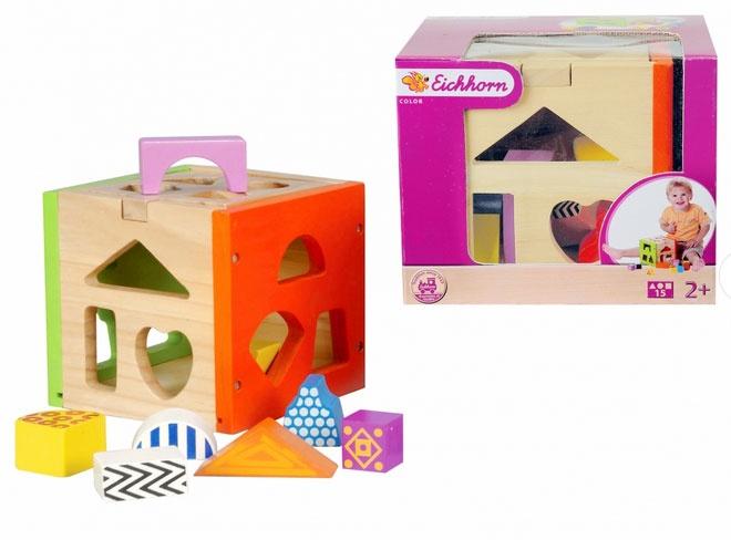 Steckbox color aus Holz von Eichhorn 2224