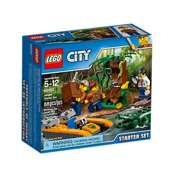 Lego City 60157 Dschungel-Starter-Set
