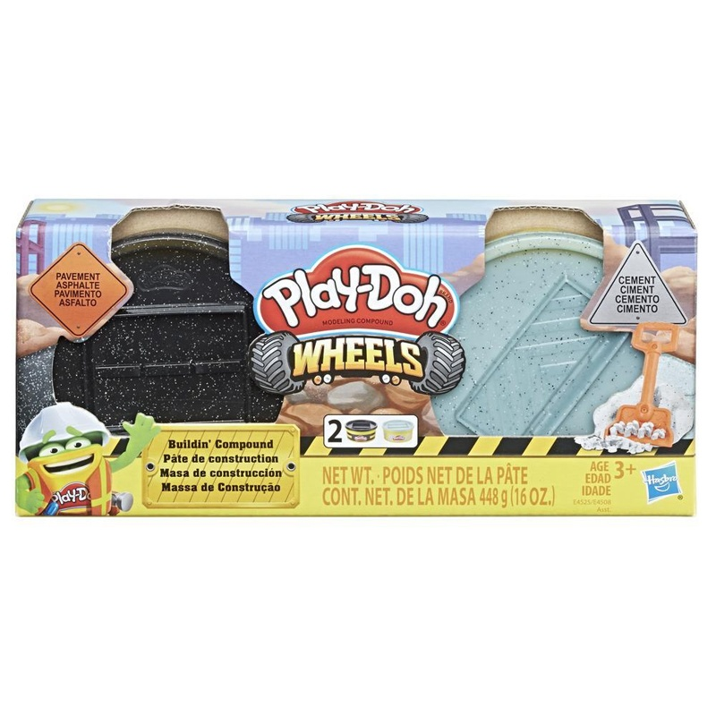 Play Doh Wheels Baustellen Knete Zement