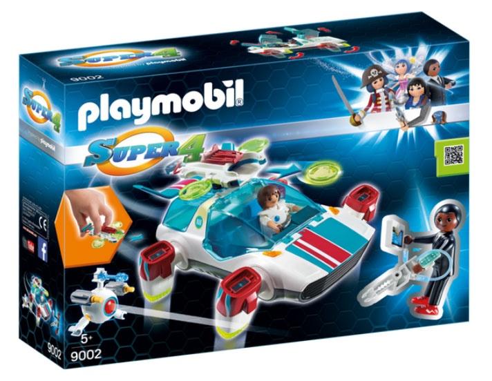 Playmobil 9002 Super4 FulguriX mit Agent Gene