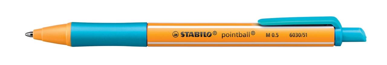 Stabilo Kugelschreiber M 0.5 türkis