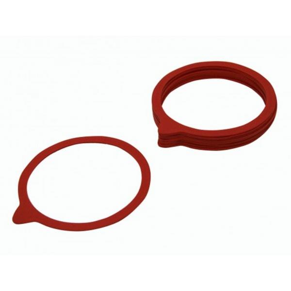 Einkochringe 94x108 mm 10 Stück rot