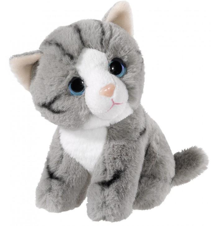 Heunec Katze grau 14 cm