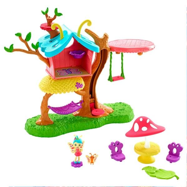 Enchantimals Blütenpark Schmetterling-Spielhaus