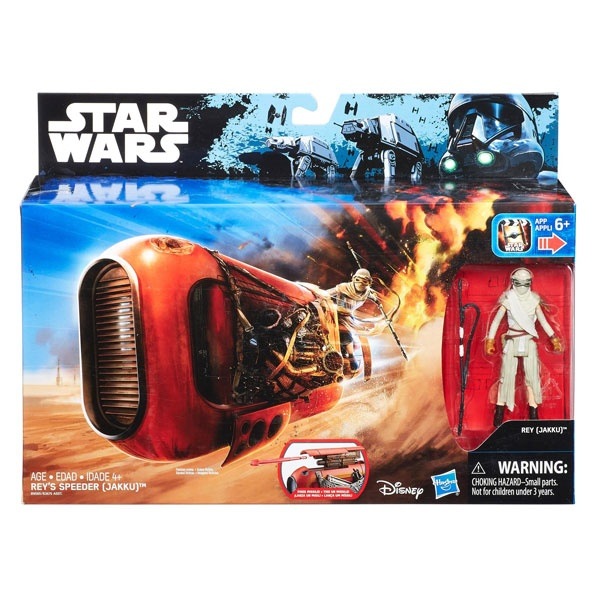 Star Wars Rogue One Class I Deluxe Fahrzeug Reys Speeder