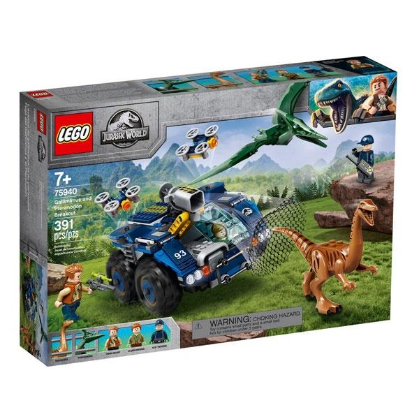 Lego Jurassic World 75940 Ausbruch von Gallimimus und Pteran