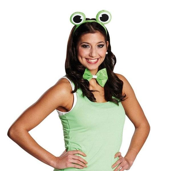 Kostüm-Zubehör Frosch-Set 2-tlg