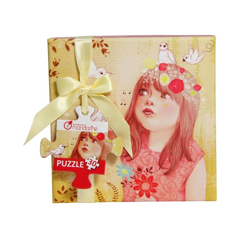 Avenue Mandarine Puzzlebox in Geschenkbox Frühling 30 Teile