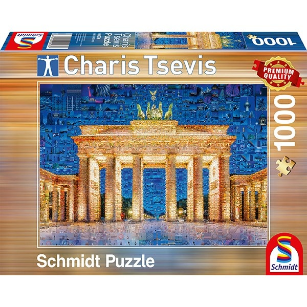 Schmidt Spiele Puzzle Charis Tsevis Berlin 1000 Teile