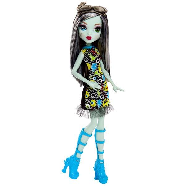Monster High Emoji Puppe Frankie Stein