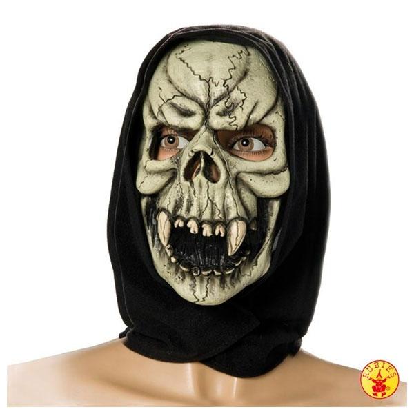 Kostüm-Zubehör Totenschädelmaske mit Tuch