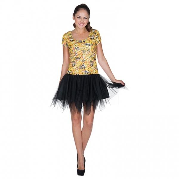 3f7c0d3f4d3e37 Kostüm emoji Dress Kleid gelb Erw. S - OsTow Onlineshop