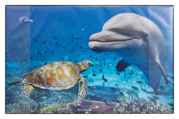 Schreibunterlage Delfin